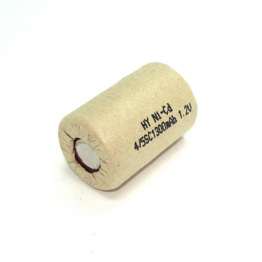 Аккумулятор Ni-Cd 4/5SC 1.2V 1300mAh — купить по выгодной цене на Яндекс.Маркете