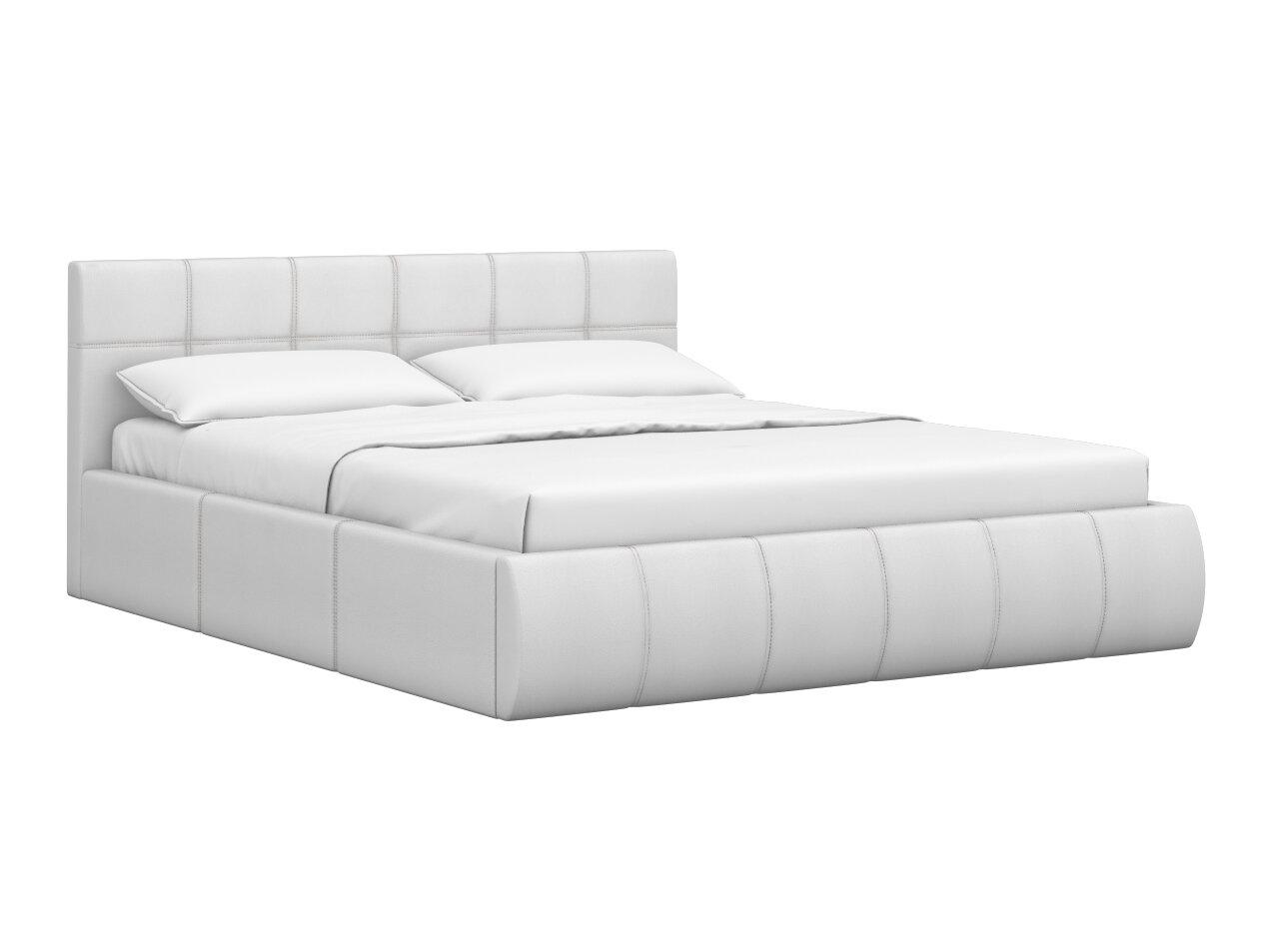 Двуспальная кровать Моби Афина 2812 кровать двойная Белый