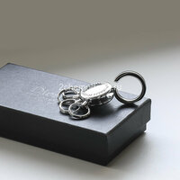 Ключник-подвеска брелок Dierhoff Бр 199 металл