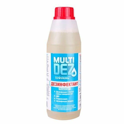 Тефлекс, Дезинфицирующее средство - МультиДез (концентрат, 500 мл.)