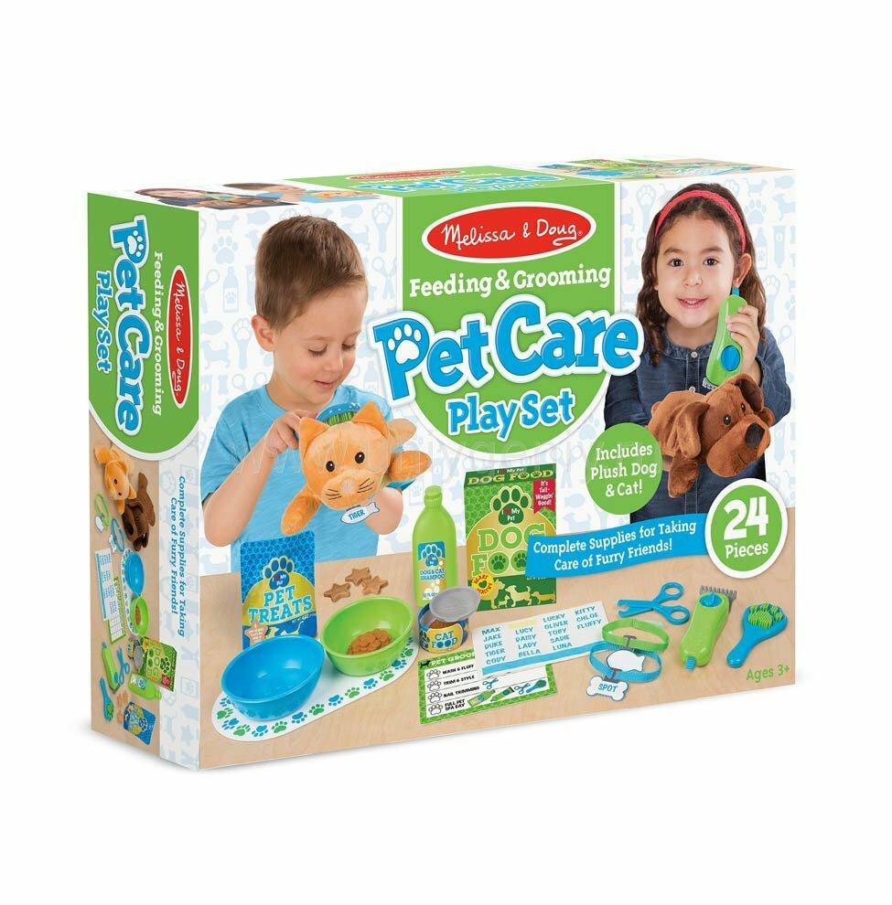 Игровой набор Melissa & Doug Pet Car