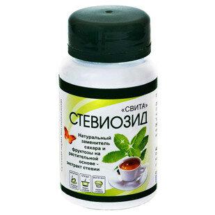 Стевиозид натуральный заменитель сахара и фруктозы 40 гр.