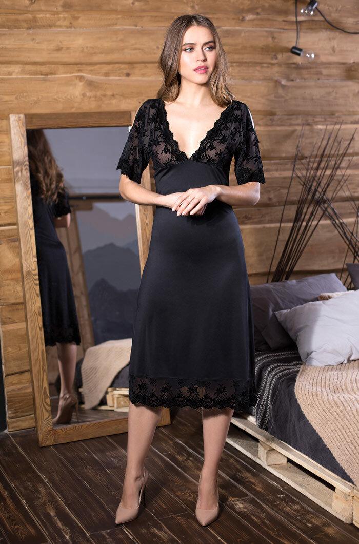 5dac3ece2f5 Платья ниже колена приталенные купить в интернет магазине 👍