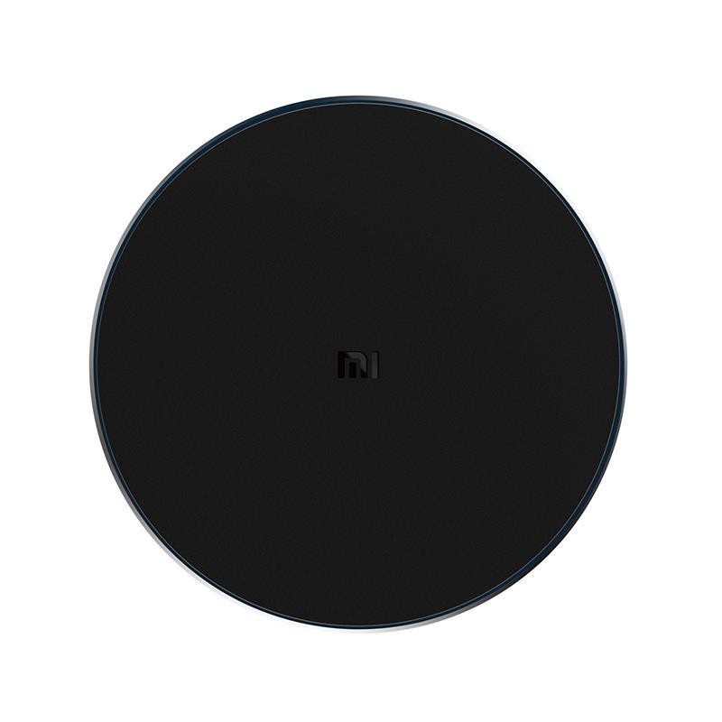 Беспроводное зарядное устройство Xiaomi Wireless Charger (черный, с проводом, без адаптера) (WPC01ZM)