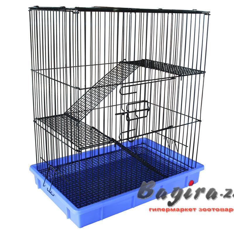 Triol (Триол) C1 Клетка для мелких животных, эмаль, 555*370*640 мм