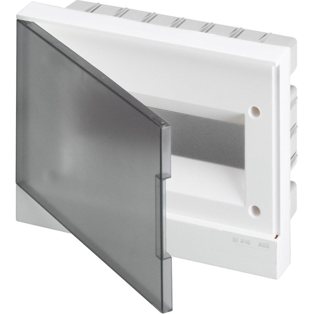 Бокс в нишу basic E 12М прозрачная дверь (BEF402212) ABB (АББ)