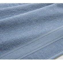 Полотенце махровое 100х180 Серо-голубое
