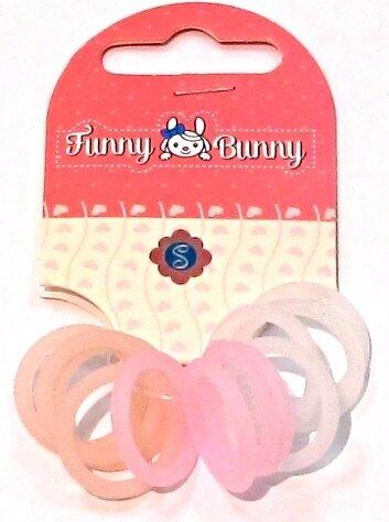 Резинки Funny Bunny для волос 12 шт.