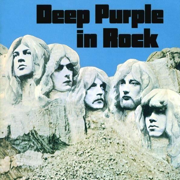 Deep Purple - Deep Purple In Rock/ CD [ Jewel Box/ Booklet/ + 12 Bonus Tracks] [ 25th Anniversary Edition] ( Remastered From The Original Tapes, Reissue 1995)