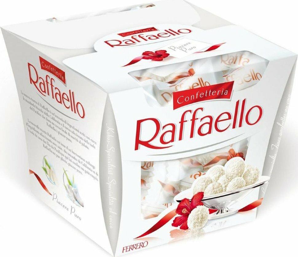 Набор конфет Raffaello / Раффаэ́лло (150г)