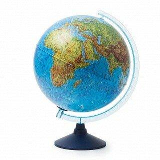 Глобус интерактивный физико-политический с подсветкой, 320 мм