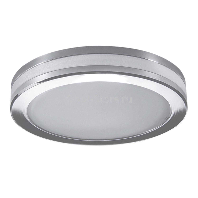 Светильник точечный встраиваемый декоративный со встроенными светодиодами Lightstar Maturo 070254