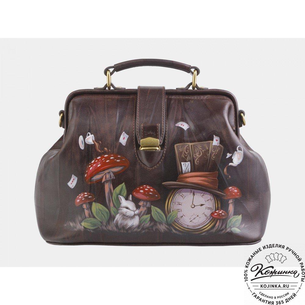 831e099e5e2c Женская кожаная сумка-саквояж