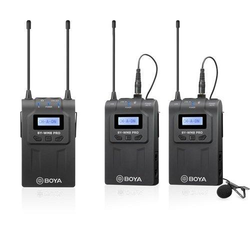 Беспроводная двух-канальная радиосистема BOYA BY-WM8 Pro-K2