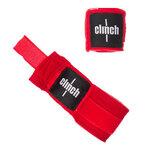 Бинты эластичные Clinch Boxing Crepe Bandage Punch красные