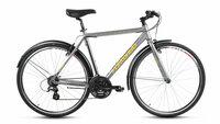 "Велосипед Forward Rockford 1.0 (серый матовый, 28"" 21ск.) алюминиевая рама"