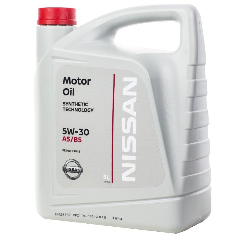 Моторное масло NISSAN 5W-30 5 л