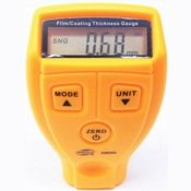 Толщиномер лакокрасочного покрытия Quantoom IDK-02 (Желтый)
