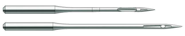 Швейная игла Groz-Beckert 134-35 DH №160 для кожи