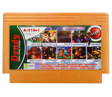 218 в 1: Сборник игр Dendy (А-218в1) (Dendy)