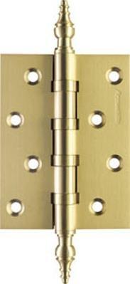 Петля дверная латунная универсальная Armadillo 500-B4 100x75x3 SG Матовое золото