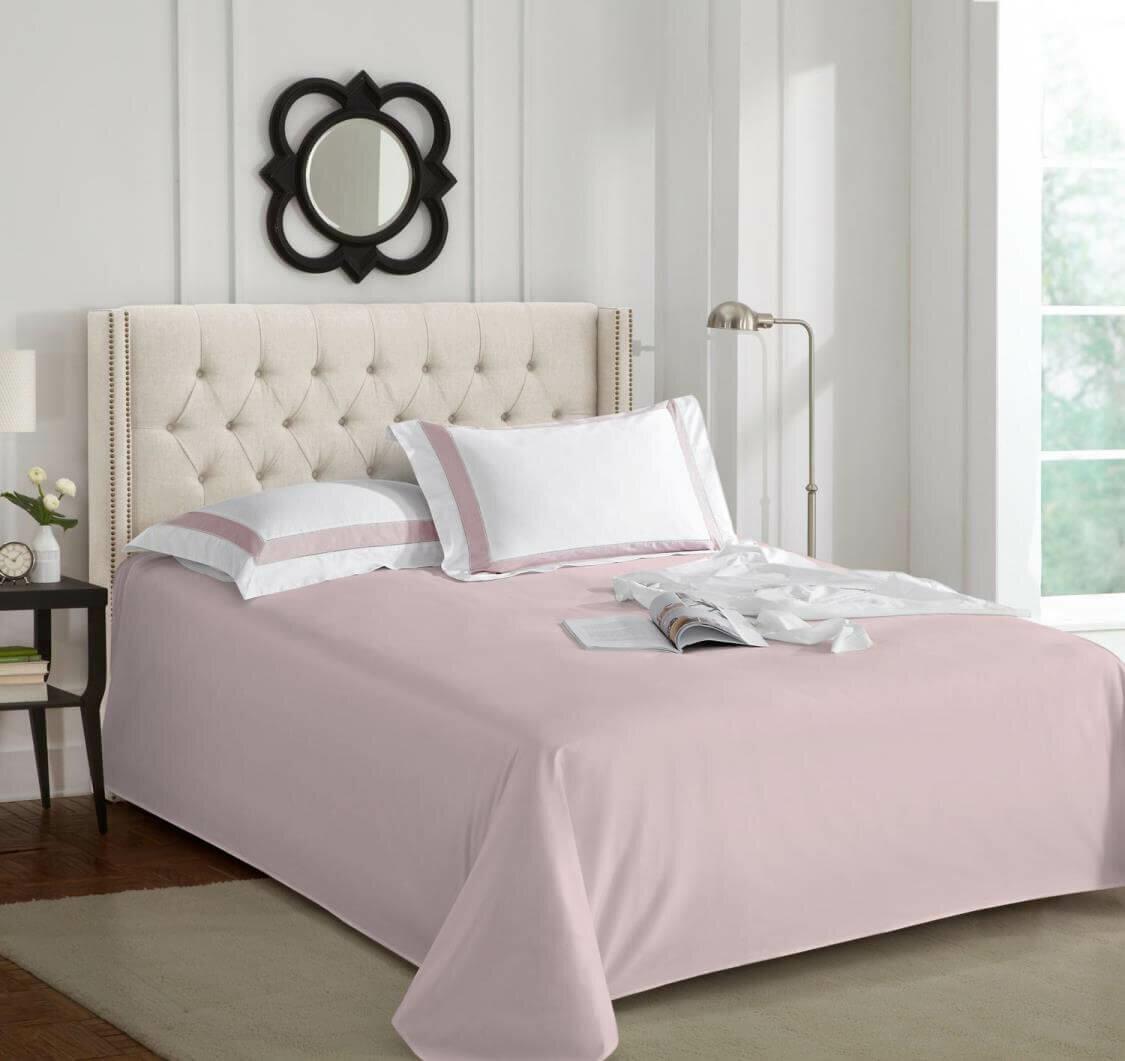 Простыня Sharmes 260х240 нежно-розовый