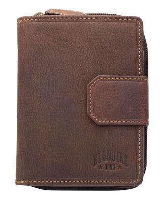 Бумажник женский KLONDIKE Wendy KD1028-01 натуральная кожа темно-коричневый