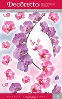 """Украшение для стен и предметов интерьера Decoretto """"Веточка орхидеи"""""""