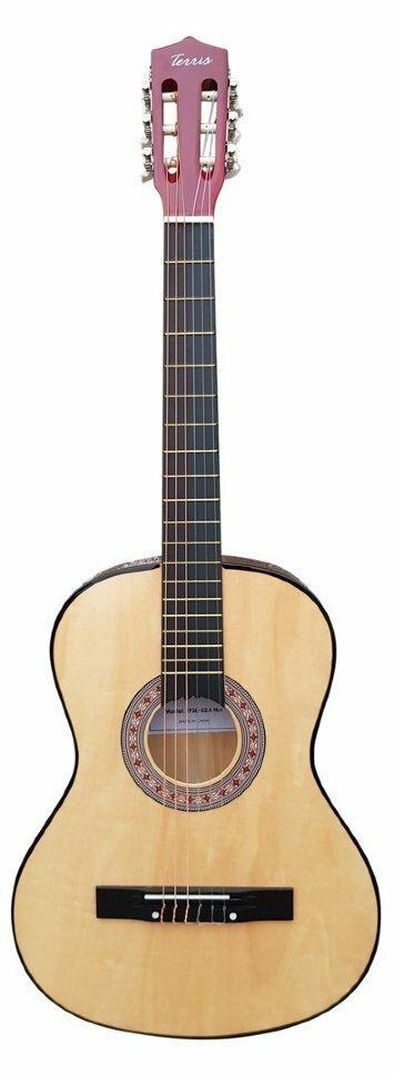 TERRIS TC-3901A NA классическая гитара 4/4, цвет натуральный