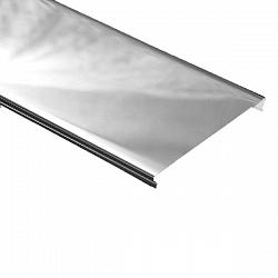 Реечный потолок Албес A25AS Суперхром 4000*25 мм