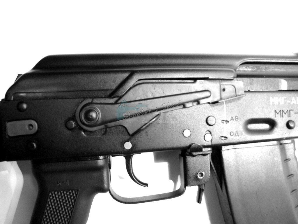 Предохранитель Alfa Arms универсальный для АК, Сайга, Сайга-9 под указат.палец