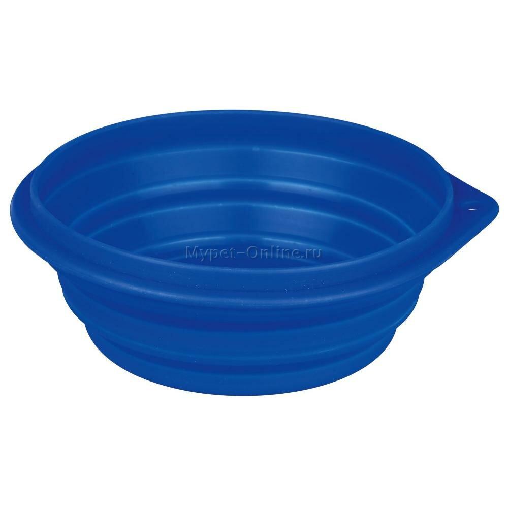 Миска дорожная для собак Trixie Travel Bowl, размер 22см.