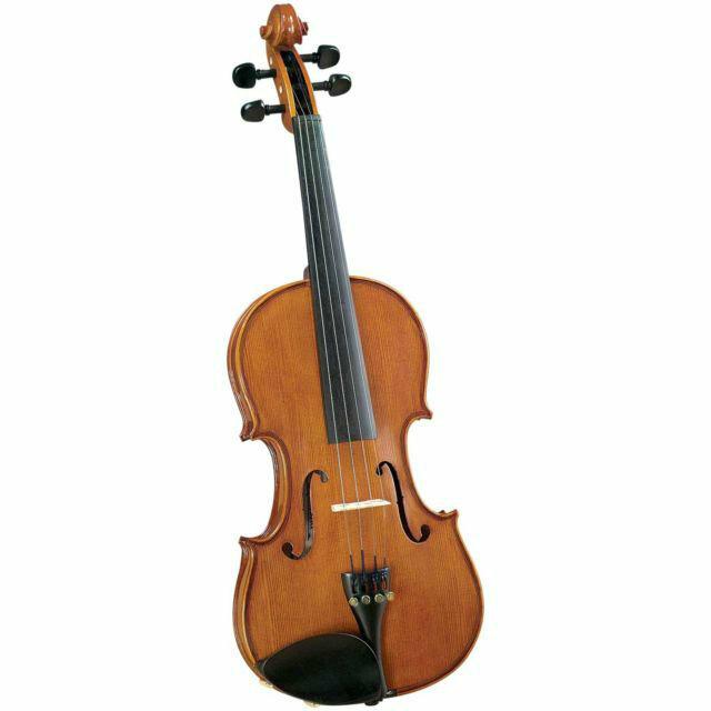 Скрипка CREMONA SV-175 Premier Student Violin Outfit 4/4 в комплекте легкий кофр, смычок и канифоль