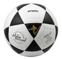 """Мяч футбольный Atemi """"GOAL"""", PVC, белый/чёрный, ламинированный"""