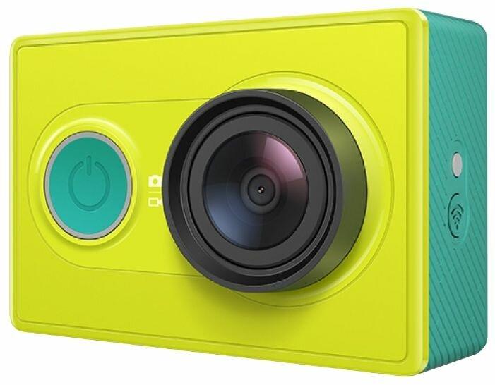 Видеокамера YI Action Camera Basic Edition зелёная