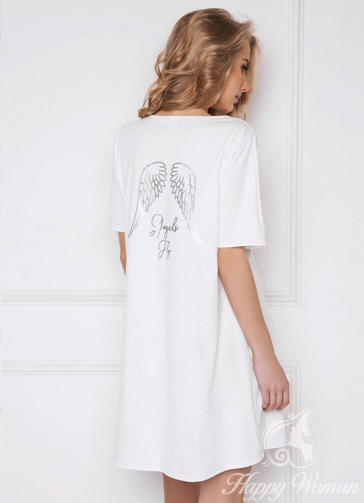 Сорочка Сорочка женская ANGEL ARUELLE белый M