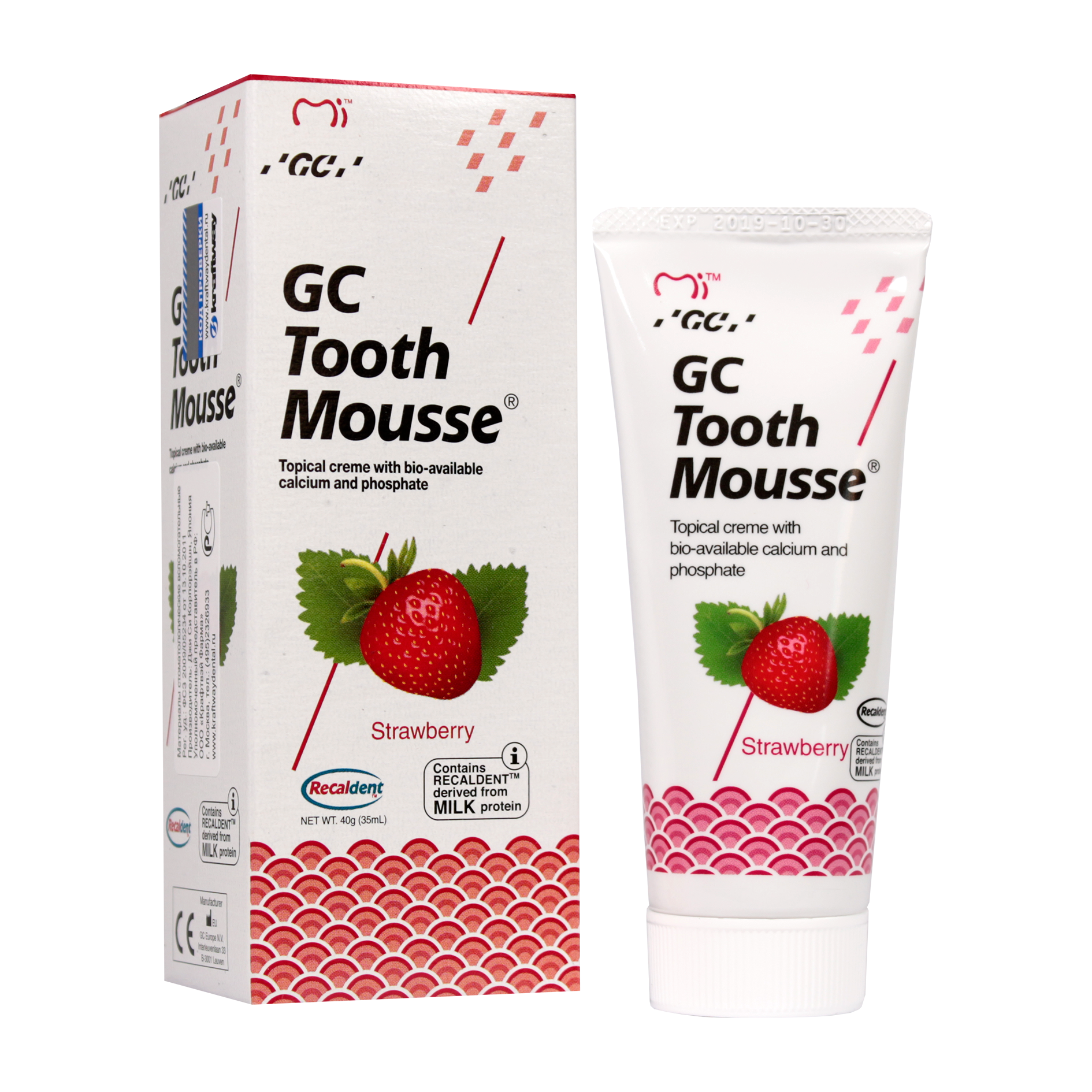 GC Tooth Mousse Tooth Mousse Клубника