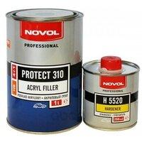 Грунт акриловый 4 1hs черный novol protect310, 1,0 0,25 Novol арт. 37141 - 35822