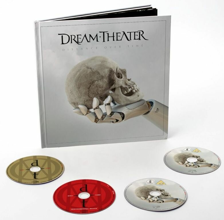 Dream Theater - Distance Over Time 2CD+DVD+Blu-Ray Artbook