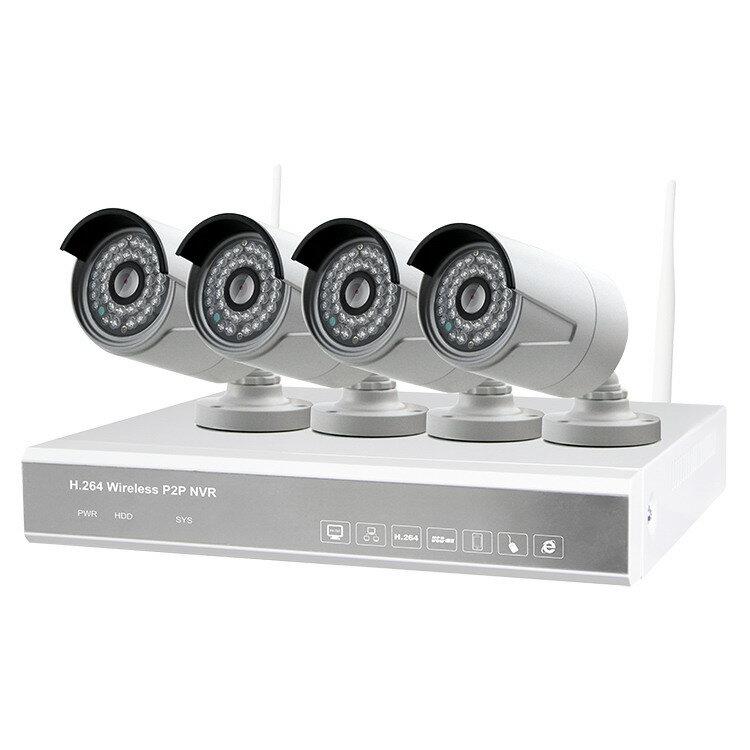 ALFA Wi-Fi комплект IP видеонаблюдения ALIP042MP