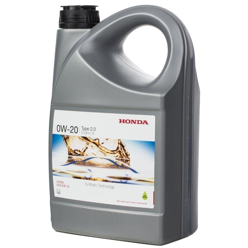 Моторное масло HONDA Engine Oil 0W-20 4 л