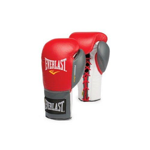 Боксерские перчатки Everlast Powerlock 27108070101 - Цвет: Черный