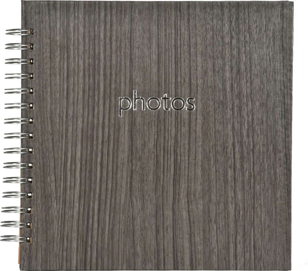 Фотоальбом Innova Poplar Black Oak Scrapbook, 20 листов