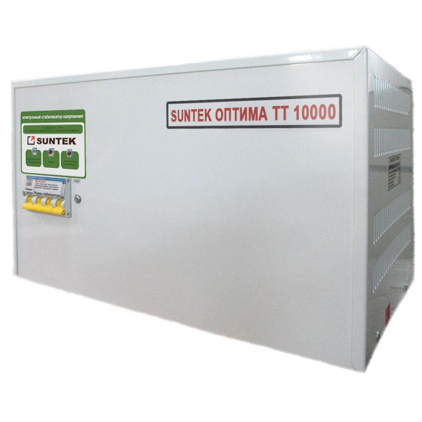 Стабилизатор напряжения 10 кВт тиристорный SUNTEK Оптима ТТ