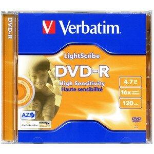 Диск DVD R Verbatim 43620