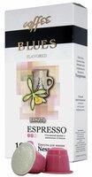 Блюз Эспрессо Ваниль кофе молотый в капсулах, 10 шт