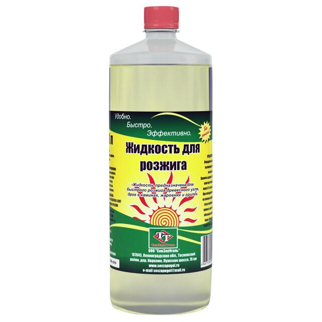 жидкость для розжига СевЗапУголь 1 л