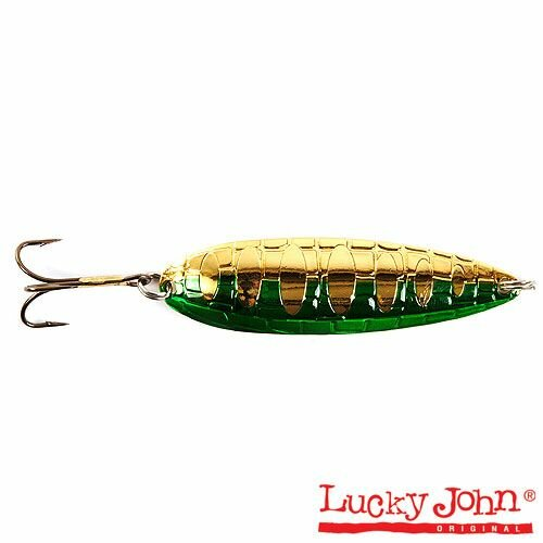 Блесна колебалка LUCKY JOHN CROCO SPOON длин.59мм/14.0г 015