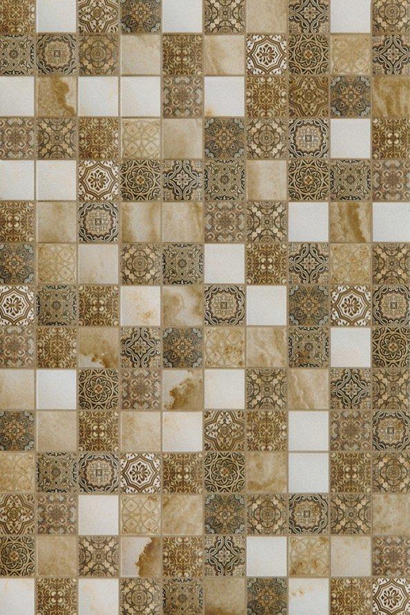 Для кухни Шахтинская плитка Плитка настенная Алжир бежевый низ 04 20х30 (1,44м2/92,16м2)