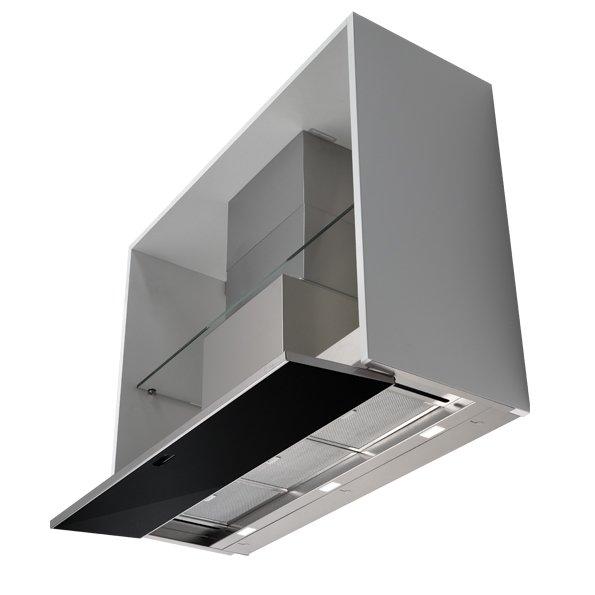 Кухонная вытяжка Falmec MOVE 60 чёрное стекло